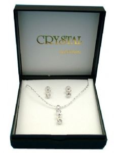Crystal Fashion Necklace & Earrings Set